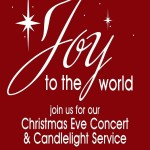 CROSS CHURCH CHRISTMAS EVE CANDLELIGHT SERVICE 6pm-7pm