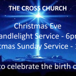 """The Cross Church Christmas Eve Candlelight Service at 6pm – """"That Beautiful Name!"""" (Isaiah 9:6)"""