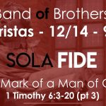 BAND OF BROS, tomorrow , December 14th, 9am at 3 Baristas 9am!
