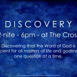 DISCOVERY Tonight 6pm!