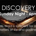 DISCOVERY This Sunday Night, November 22nd at 6pm!