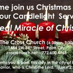 "Cross Church Worship! December 13th at 10am ""The Miracle of Christmas"" (Phil 2:5-11)"